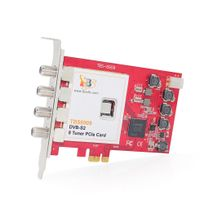 TBS - TBS6909 Carte PCIe Tuner TV DVBS/S2 satellite OCTO Tuners - 8 tuners / Linux - TBS6909 DVB-S2 8 Tuner PCIe Card