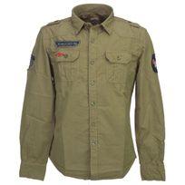 Biaggio - Chemise manches longues Conceta kaki ml shirt Vert 57547