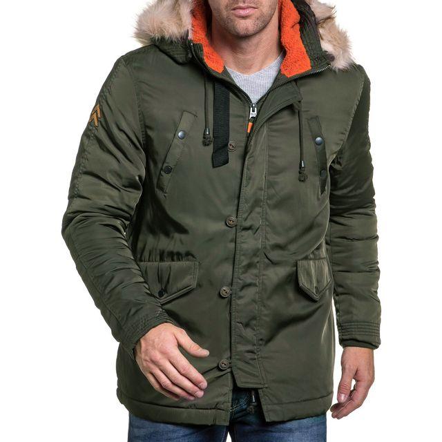 Vestes hiver homme pas cher