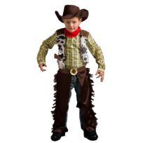 Caritan - Deguisement Enfant - Cow Boy - Taille : 3-4 ans 94 à 108 cm