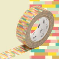 Mt - Masking Tape Deco Block Pink