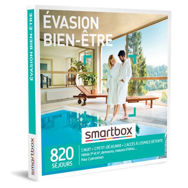 Smartbox Evasion Bien Etre Pas Cher Achat Vente Coffret