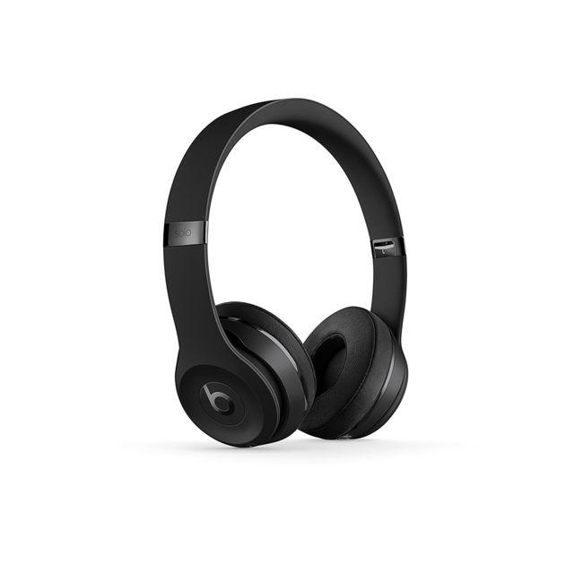 Beats Casque Circum Aural Solo 3 Bluetooth Noir Glassy Pas Cher