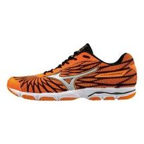Mizuno - Chaussures Wave Hitogami 4 orange noir
