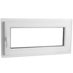 Rocambolesk - Superbe Fenêtre Pvc triple vitrage oscillo-battante poignée à gauche 800x400mm neuf