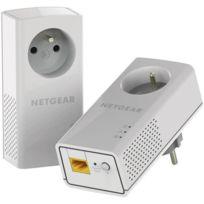 NETGEAR - Pack de 2 CPL PLP1200-100FRS 1200Mbit/s