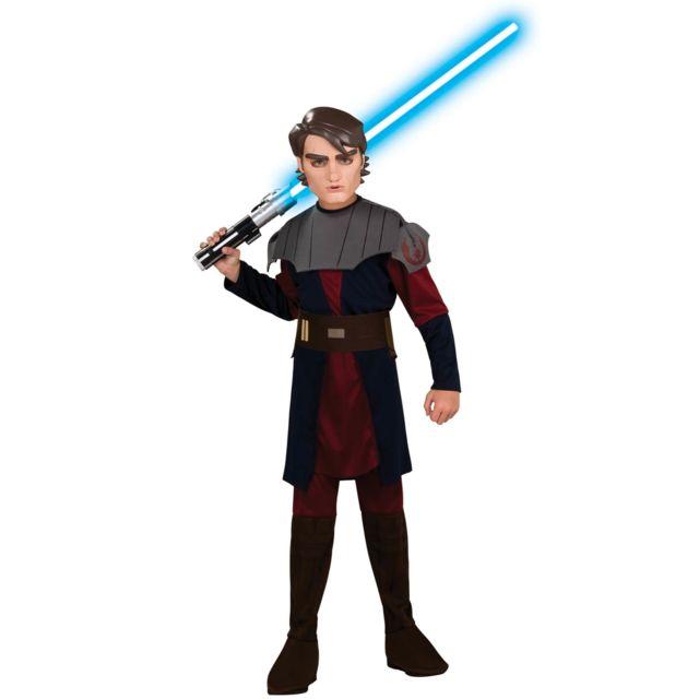 Rubies Déguisement Jedi Anakin Skywalker Star Wars - Clone Wars, Enfant5/7 ans 108 à 120cm