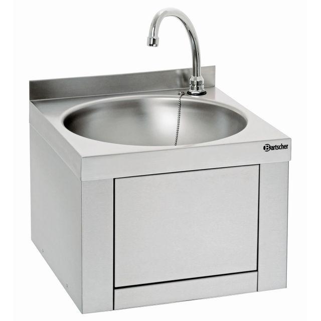 Bartscher Lave-mains, commande genou