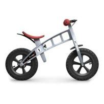 FirstBIKE - Vélo enfant Cross argent avec freins
