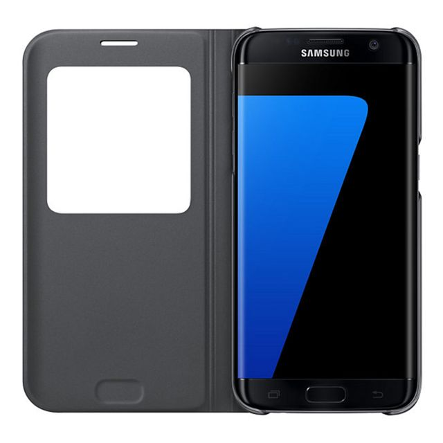 Samsung - S View Cover Galaxy S7 - Noir
