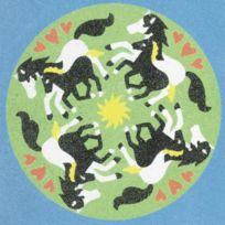Sand Mandala Horses - 29889