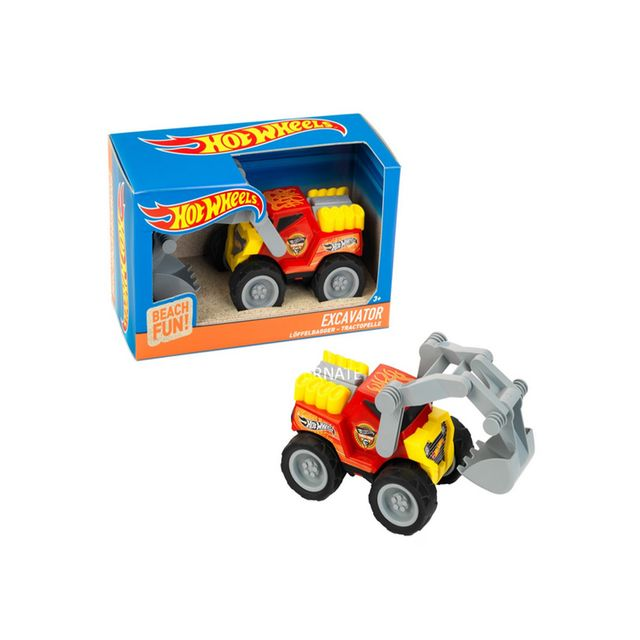 Klein Véhicule de chantier Hot Wheels - Beach Fun : Pelleteuse