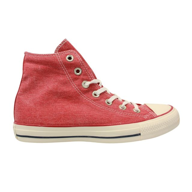 321995f580824 Converse - Chuck Taylor All Star High Rouge - pas cher Achat   Vente ...
