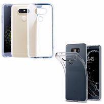 Colorfone - Housse Silicone Ultra Slim Transparente pour Lg G6