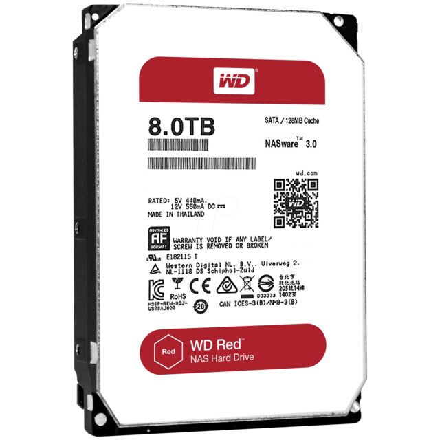 WESTERN DIGITAL WD Red 8 To