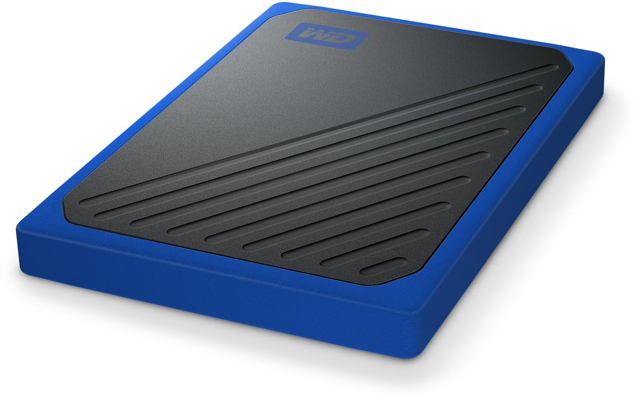 Disque dur externe 500 Go - WDBMCG5000ABT-W - Bleu