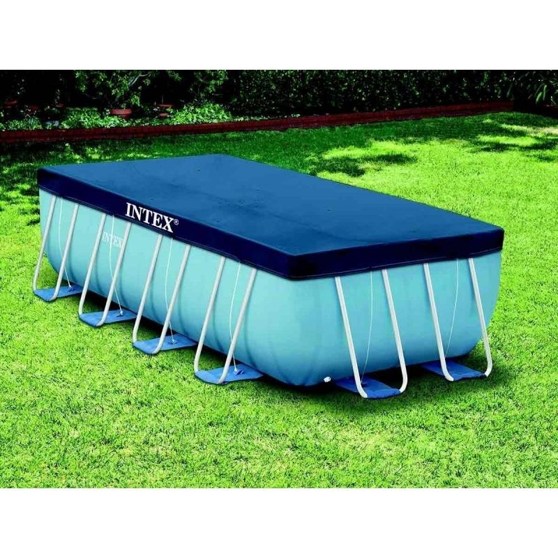 intex b che rectangulaire pour piscine tubulaire de 4 x 2 m 4m x 2m pas cher achat vente. Black Bedroom Furniture Sets. Home Design Ideas
