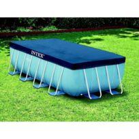 INTEX - Bâche rectangulaire pour piscine tubulaire de 4 x 2 m
