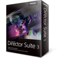 Générique - Logiciel Cyberlink Director Suite 3 retouche photo et d'édition vidéo français, Windows