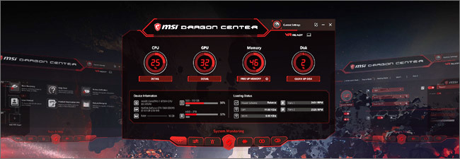 MSI GP - Dragon Center