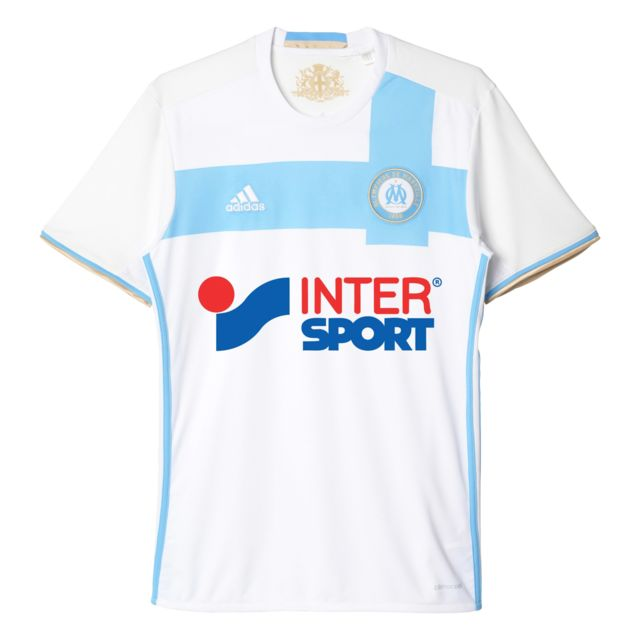 439dd34d578f1 Adidas performance - Replica Marseille Om Home Blanc Maillot Club Homme  Football