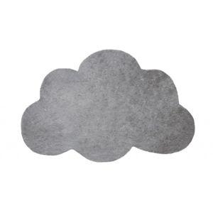 lilipinso tapis nuage argent fonc chambre b b par couleur gris taille 64 x 100 cm. Black Bedroom Furniture Sets. Home Design Ideas