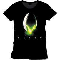 Cotton Division - Alien T-shirt Original Poster Noir S