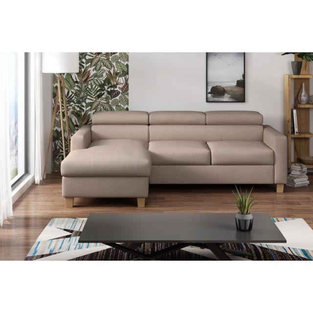 Canapé lit angle droit Collection Eloquance