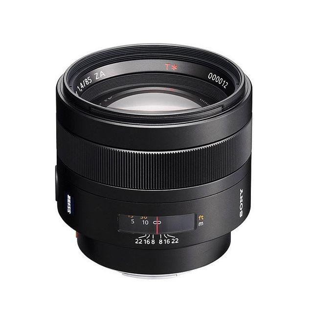Sony Objectif Sal 85 mm f/1.4 Za Planar T Garanti 2 ans