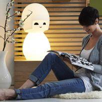 Mr Maria - Kokeshi - Lampe à poser poupée Blanc H63cm - Guirlande et objet lumineux designé par