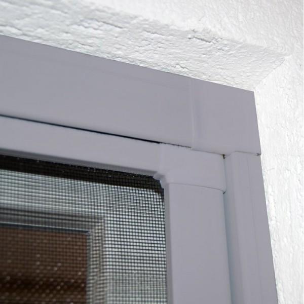 Moustiquaire Coulissante Porte et Baie-vitrée - Alu Gris L230 x H240 cm à découper soi-même