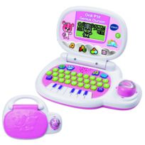VTECH - Ordi P'tit Genius Ourson rose