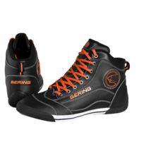 Bering , baskets moto scooter route sport Pop homme noir,orange étanche  Cbo415 T 46