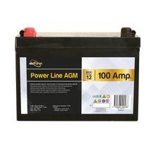 Elektron - Batterie auxiliaire Power Line Agm 100 Ampères