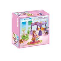 Playmobil - 6851-Chambre de la Reine avec lit à baldaquin