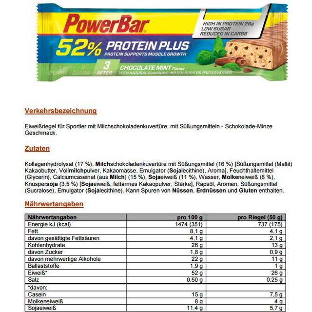 Nutrition sport - Chocolate Mint