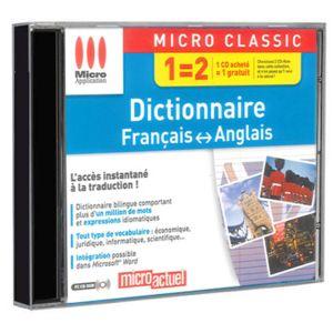 Micro application dictionnaire fran ais anglais pas - Dictionnaire cuisine francais ...