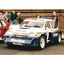 Scalextric - Sca3408 - Radio Commande, VÉHICULE Miniature - Mg Metro 6R4 - Racing Shell Oils - N°15
