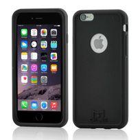Mols - Coque antichoc noire avec protecteur d'écran pour iPhone 6s Plus