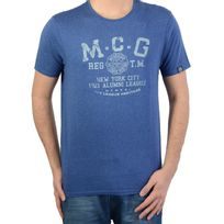 Mc Gregor - T shirt Mcgregor Basic Sportwear Del.3 Bleu 20.3100.61.120