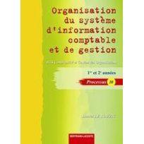 Bertrand Lacoste - organisation du système comptable et de gestion ; Bts comptabilité et gestion des organisations, processus 10 ; manuel de l'élève