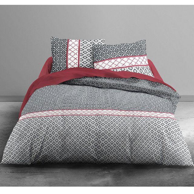 parure de lit 240x240 beautiful couette et pices parure de lit imprime indien et deux loups. Black Bedroom Furniture Sets. Home Design Ideas