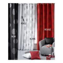 Bonareva - Rideau panneau - 140 x 240 cm - Galaxy - Différents coloris rouge