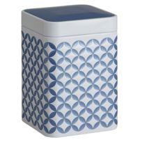 Eiger - Boite May bleue métallique pour le thé Contenance 200 gr