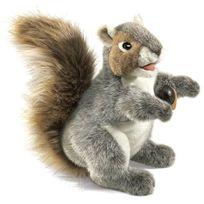 Folkmanis - Puppets - 2553 - Marionnette Et ThÉÂTRE - Grey Squirrel
