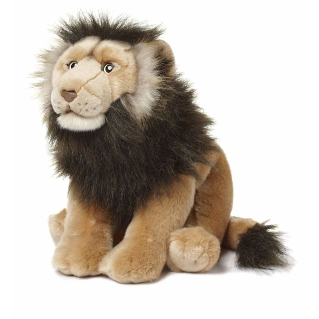 Wwf 23192001 - Peluche - Lion Sauvage - 40 cm