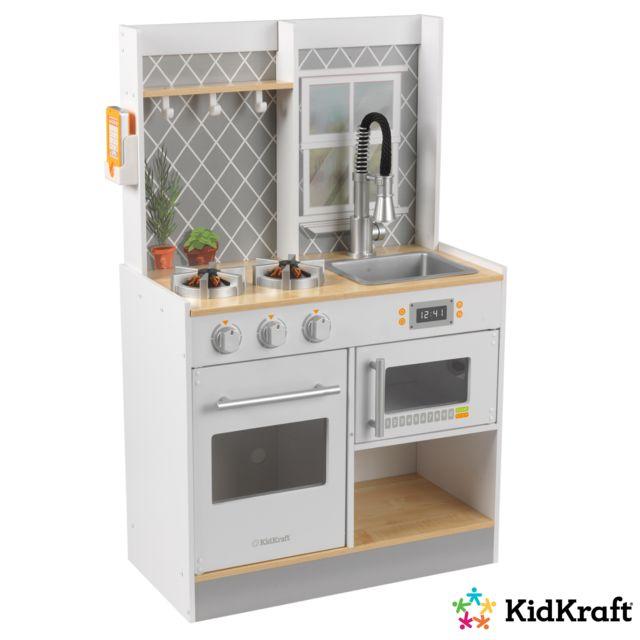 kidkraft cuisine enfant en bois let s cook 53395 pas. Black Bedroom Furniture Sets. Home Design Ideas
