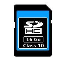 Yonis - Carte mémoire Sd Sdhc 16 Go Gb classe 10 appareil photo téléphone