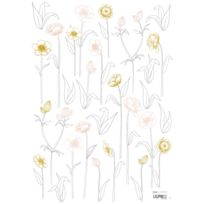 Lilipinso - Botany - Stickers A3 - Petites Fleurs sur Tiges