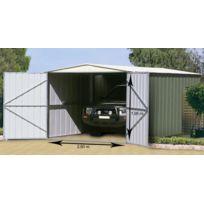 Treco - Garage mtal grande hauteur 10x19 Colorbond